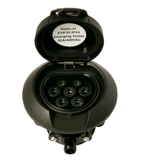 Bild von Charging Outlet Typ 2 32A/400V