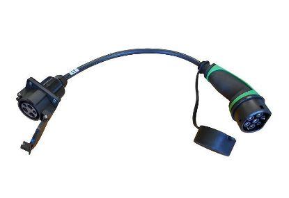 Bild von Adapter Typ 1 auf Typ 2 (16A/230V)