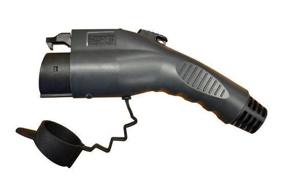 Bild von Typ 1 Stecker 16A, 230V, weiblich, Fahrzeugseite