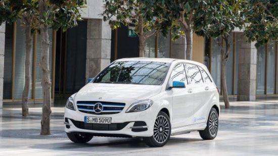 Bild von Mercedes-Benz B-Klasse Electric Drive