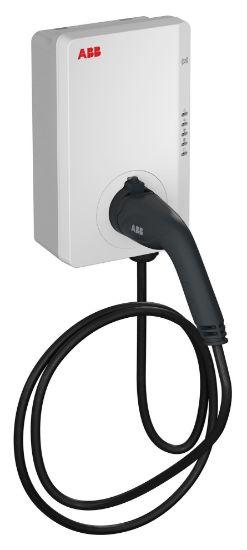 Bild von ABB Terra AC 22kW RFID 4G 5m Typ 2 Kabel
