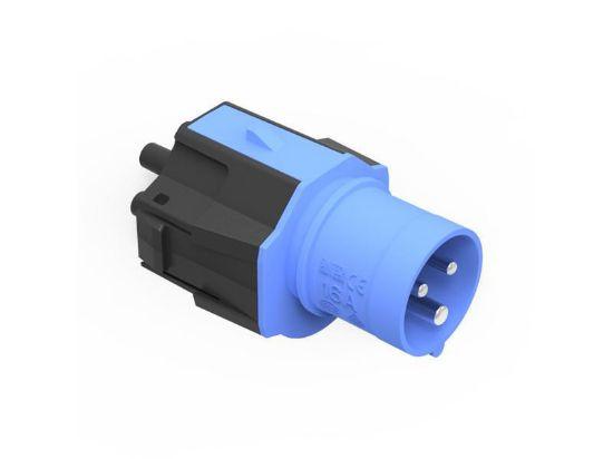 Bild von NRGkick Steckeraufsatz CEE16-3 blau (16A/230V)