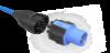 Bild von NRGkick Steckeraufsatz CEE32-3 blau (32A/230V)
