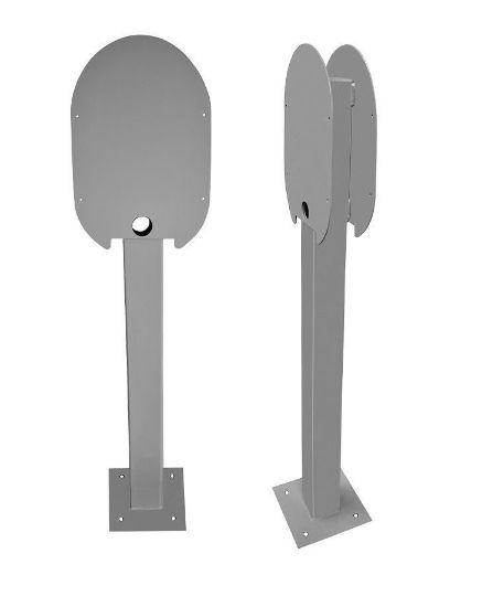 Bild von Ratio Electric Doppel-Standsäule für zwei Ladestationen