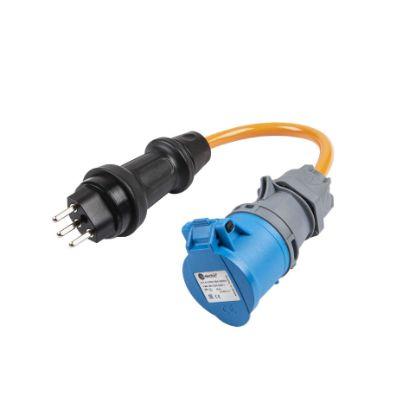 Bild von Adapter T23 Stecker TH55 auf CEE16-3 Kupplung