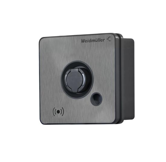 Bild von Weidmüller Business Wallbox 22kW, Typ 2 Buchse, RFID, MID, Modbus